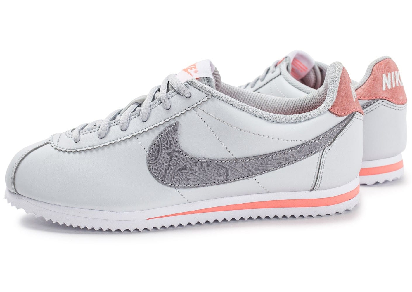 nike cortez se junior grise chaussures toutes les baskets sold es chausport. Black Bedroom Furniture Sets. Home Design Ideas