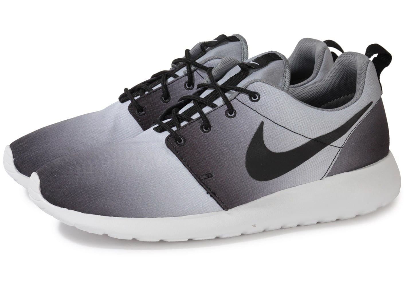Chaussures ChaussuresFemme Nike Roshe Run Floral 2015 Flower Grise