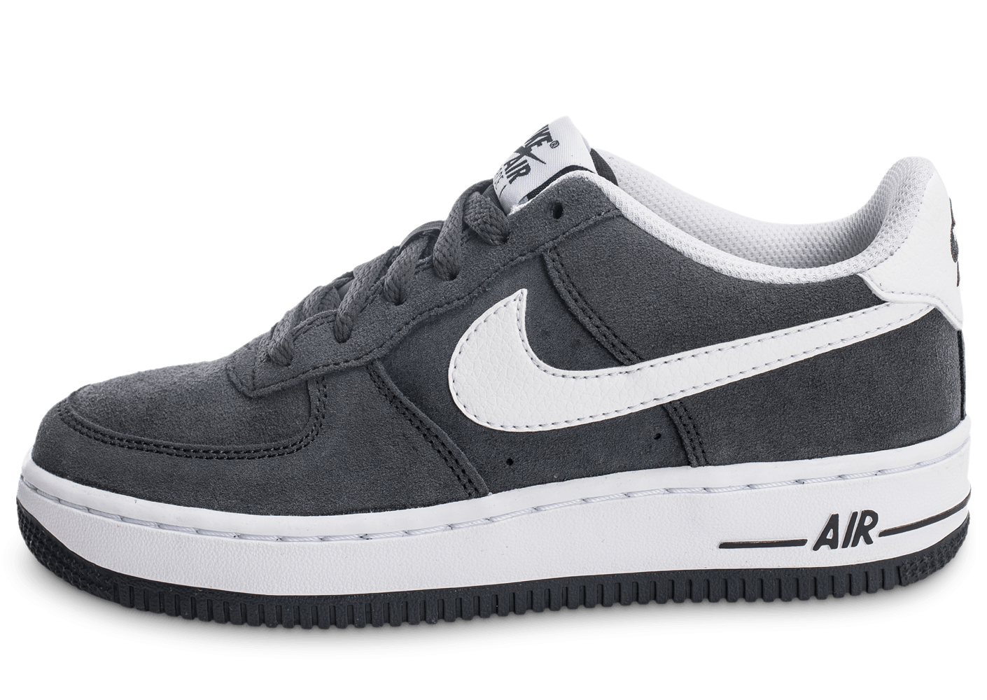 nike air force 1 suede junior grise chaussures enfant chausport
