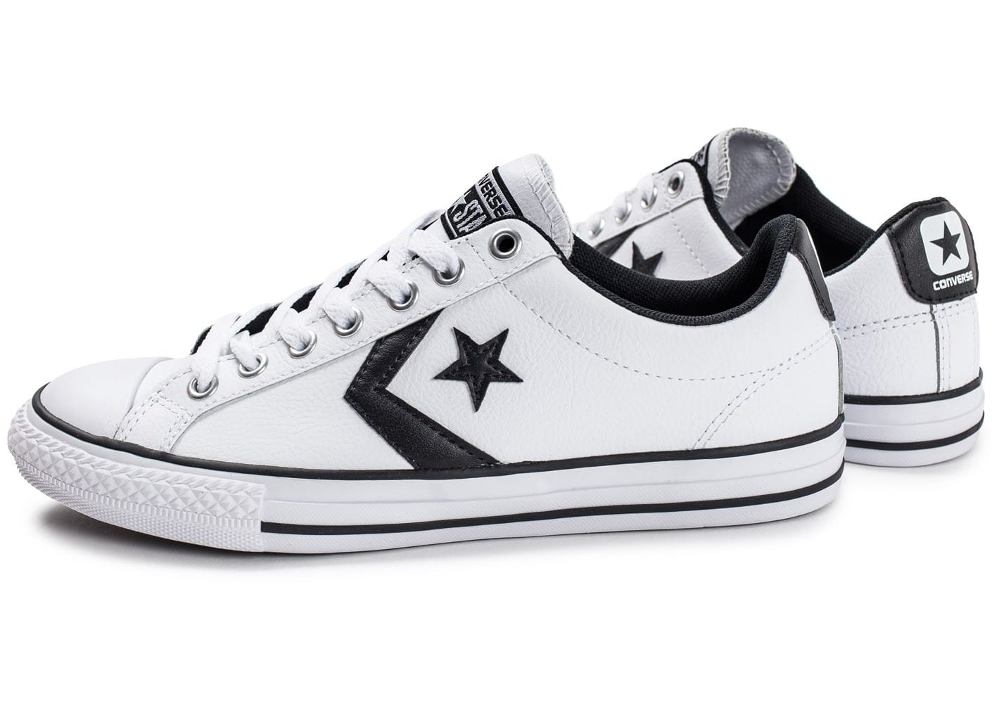 converse star player ox homme blanche