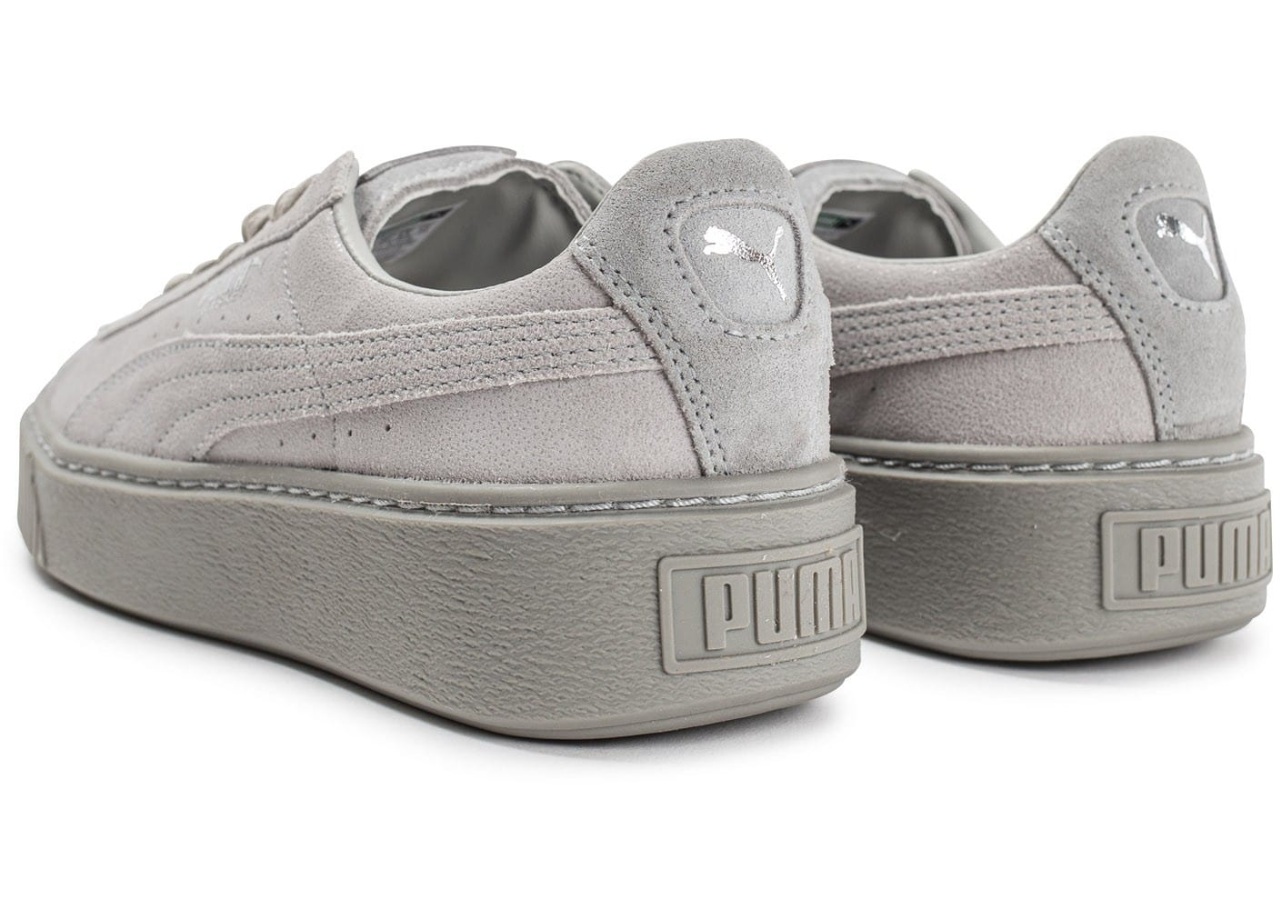 chaussure puma grise homme