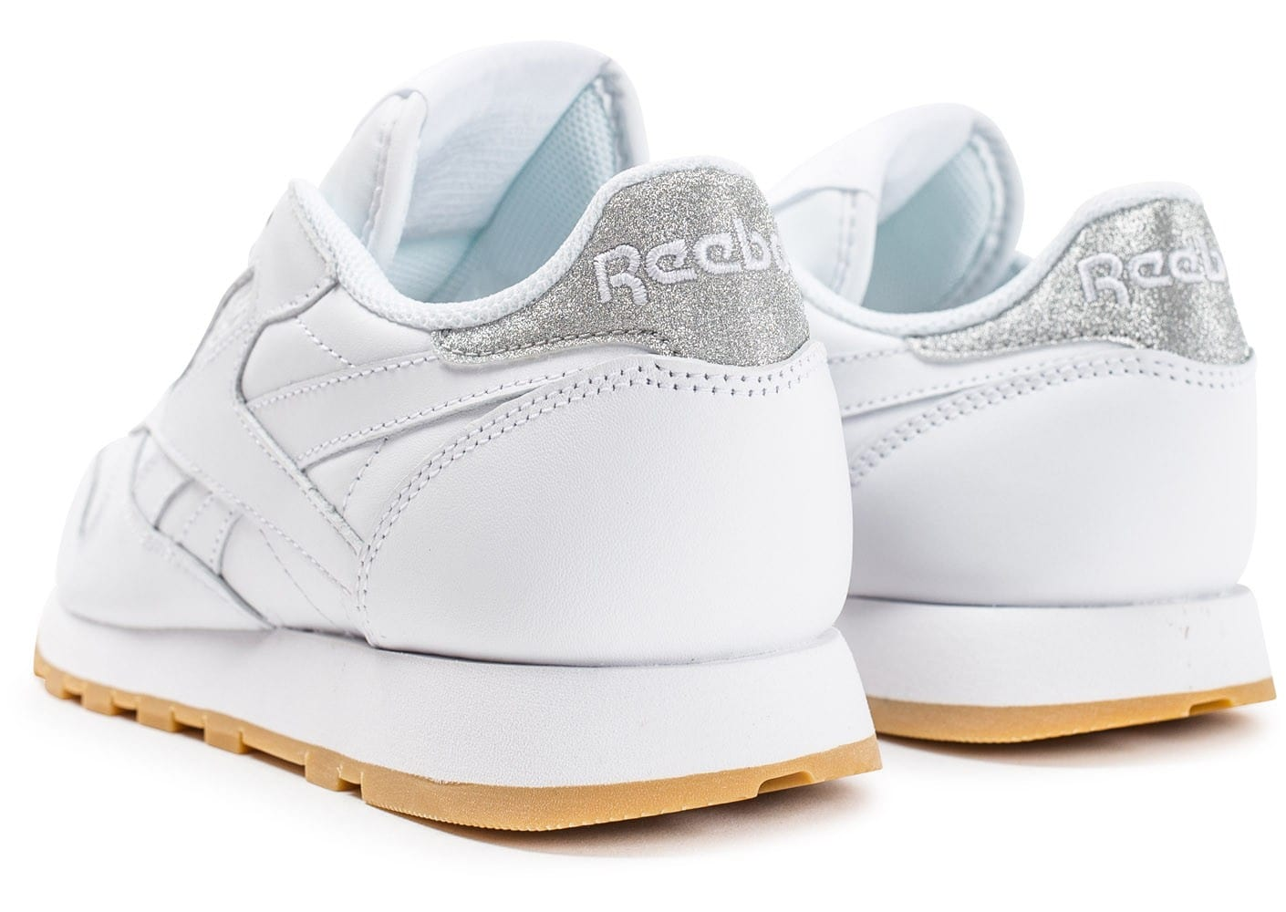 reebok classic leather diamond gum blanche chaussures. Black Bedroom Furniture Sets. Home Design Ideas