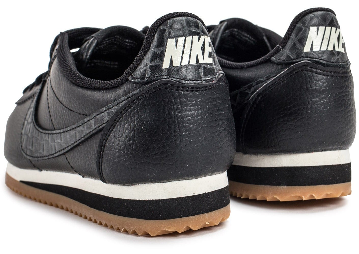nike classic cortez leather lux chaussures femme chausport. Black Bedroom Furniture Sets. Home Design Ideas