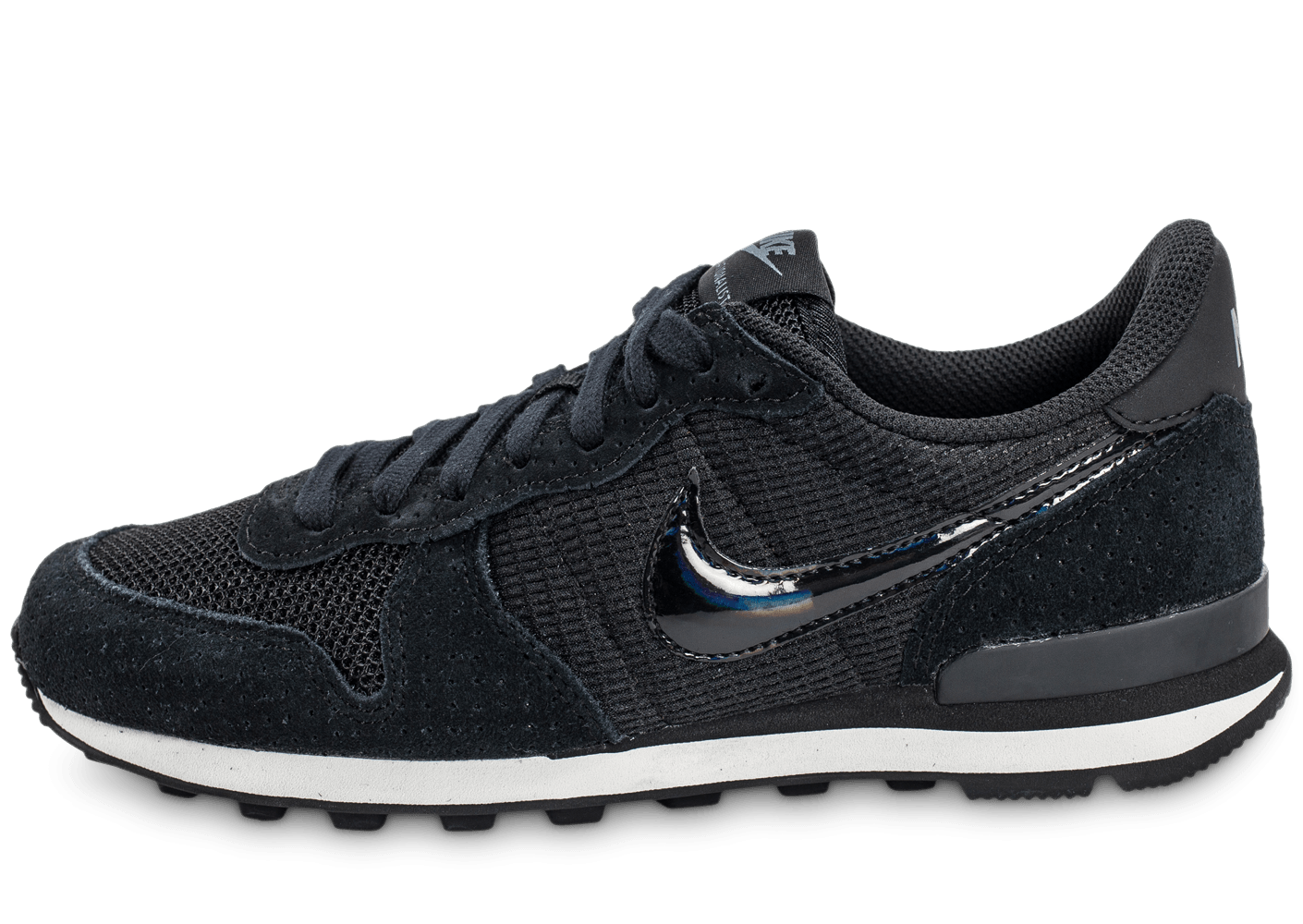nike internationalist w noire chaussures femme chausport. Black Bedroom Furniture Sets. Home Design Ideas