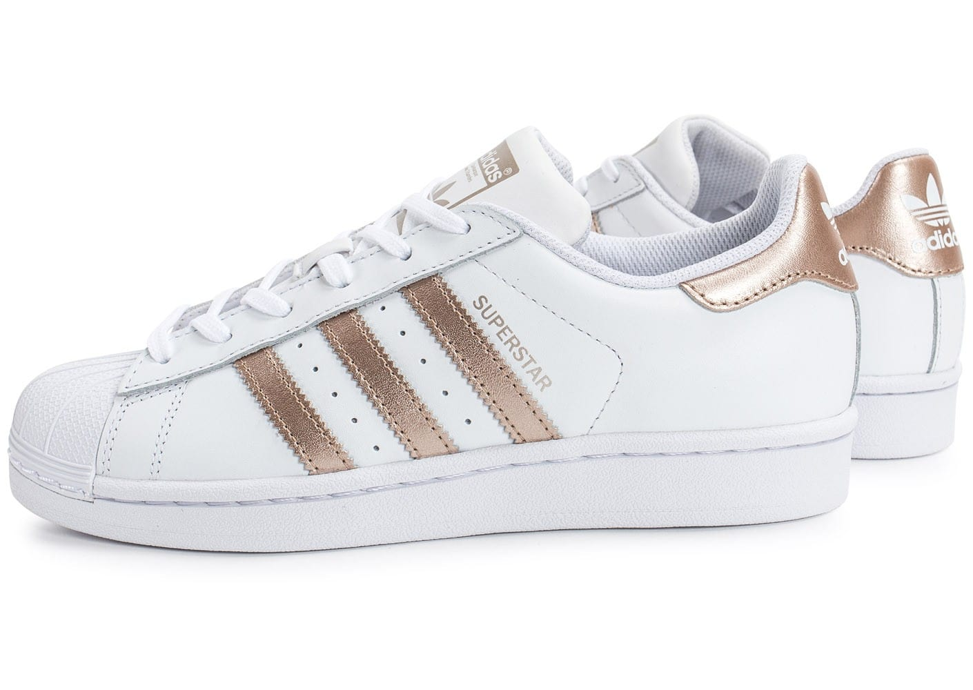 adidas superstar w rose gold chaussures adidas chausport. Black Bedroom Furniture Sets. Home Design Ideas