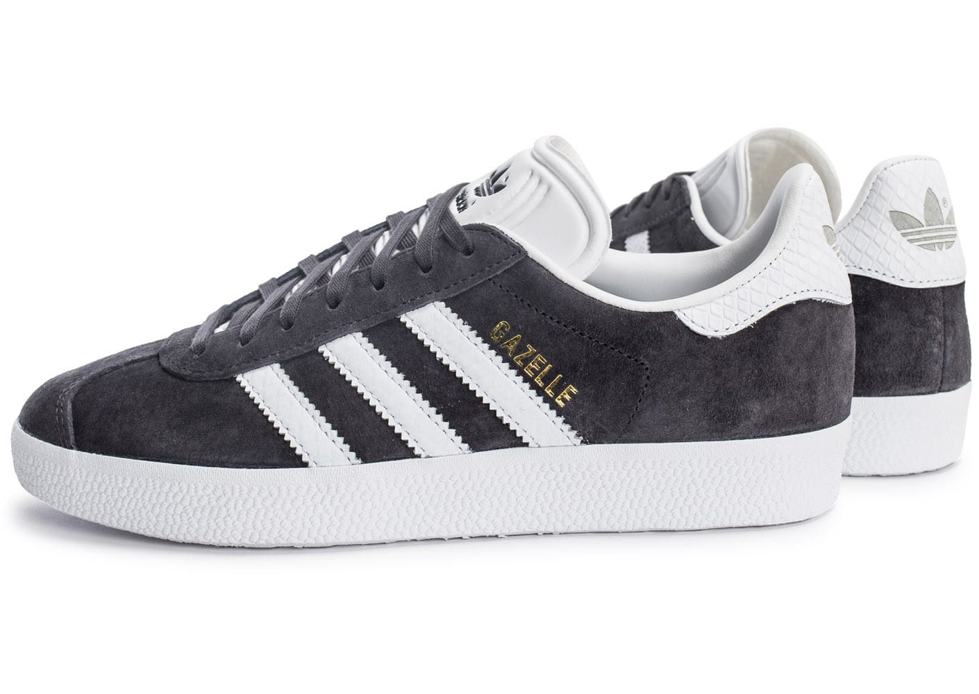 adidas gazelle w anthracite chaussures adidas chausport. Black Bedroom Furniture Sets. Home Design Ideas