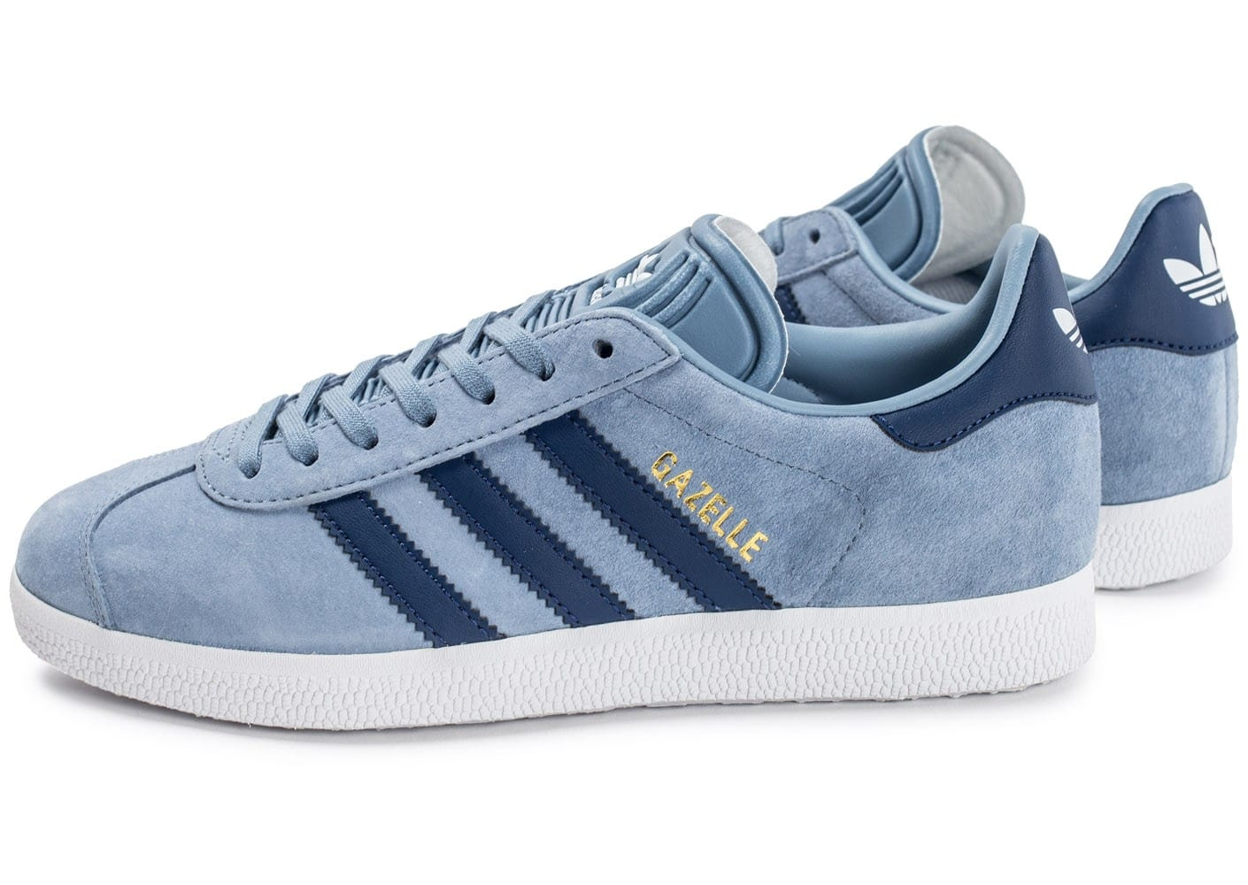 adidas gazelle w bleue chaussures adidas chausport. Black Bedroom Furniture Sets. Home Design Ideas
