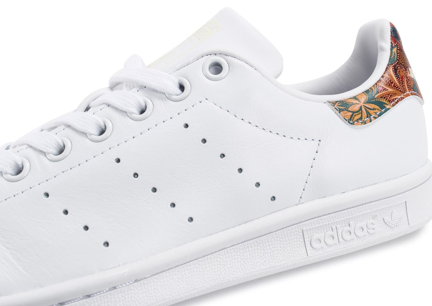 Chaussures adidas Stan Smith The Farm W Bali blanche vue dessus