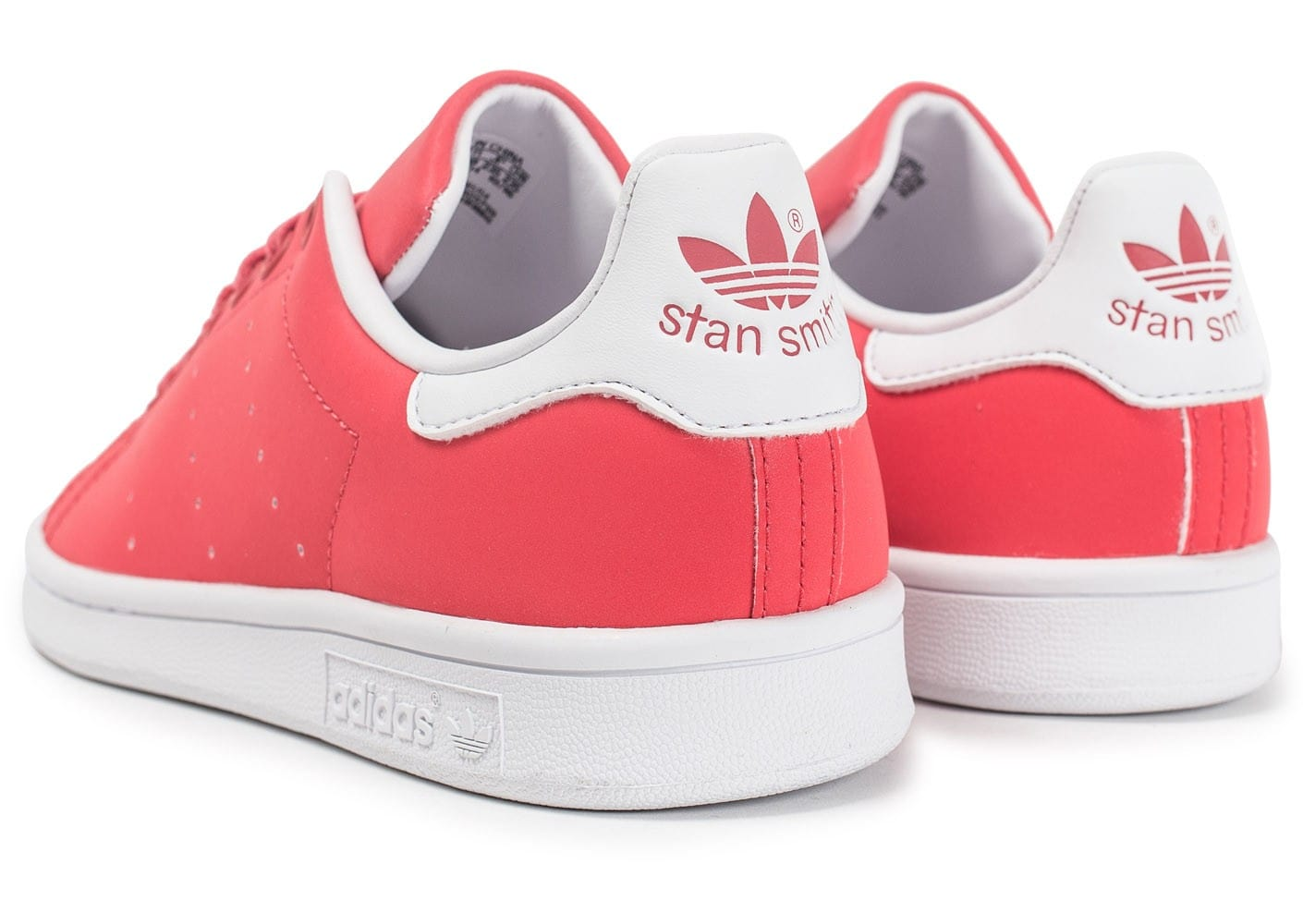 Chaussures adidas Stan Smith Core pink vue dessous