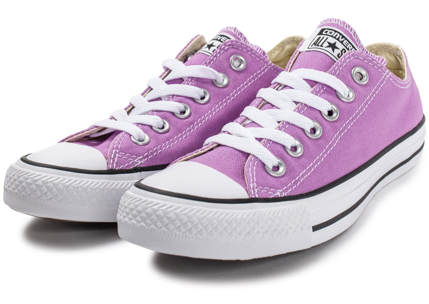 Chaussures Converse Chuck Taylor All Star Ox Violet vue intérieure