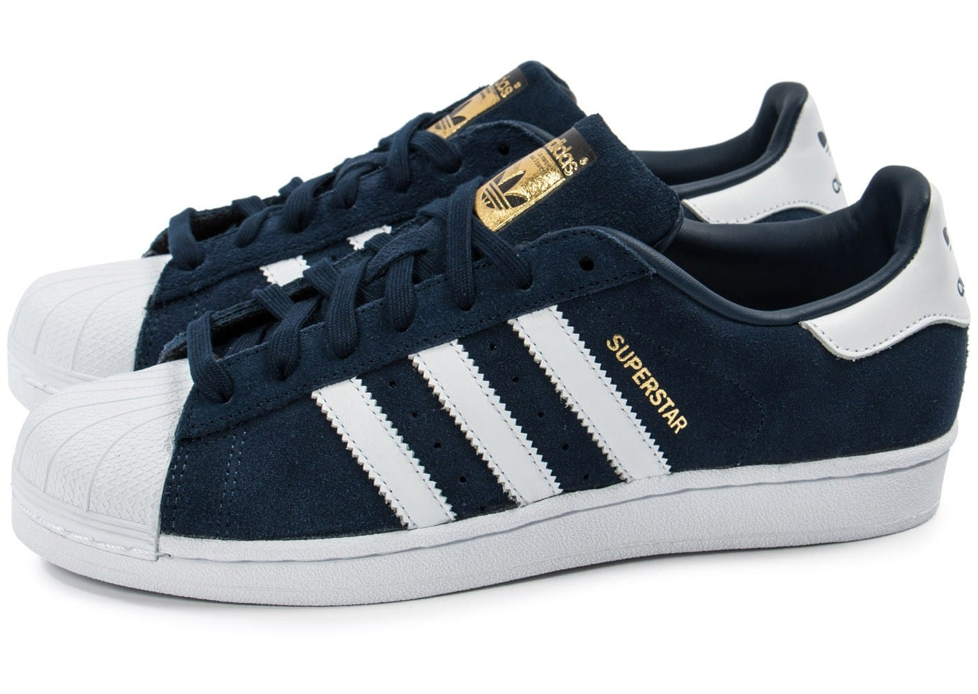 adidas superstar suede bleu marine chaussures homme chausport. Black Bedroom Furniture Sets. Home Design Ideas