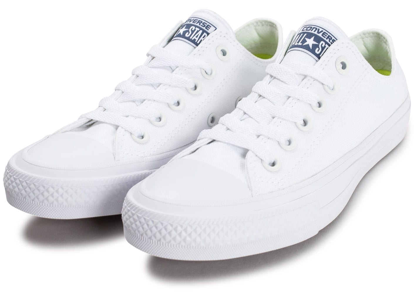 Chaussures Converse Chuck Taylor All Star 2 OX W blanche vue intérieure