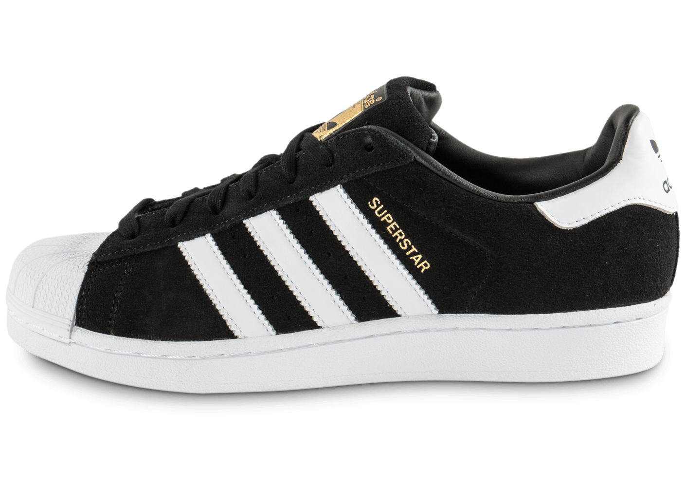 adidas superstar suede noire chaussures homme chausport. Black Bedroom Furniture Sets. Home Design Ideas