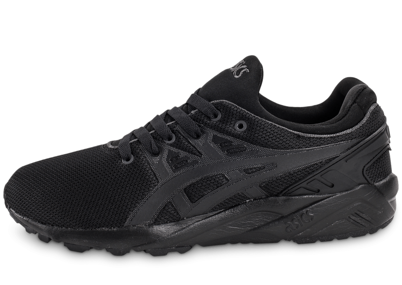 asics gel kayano trainer evo noire chaussures homme chausport. Black Bedroom Furniture Sets. Home Design Ideas