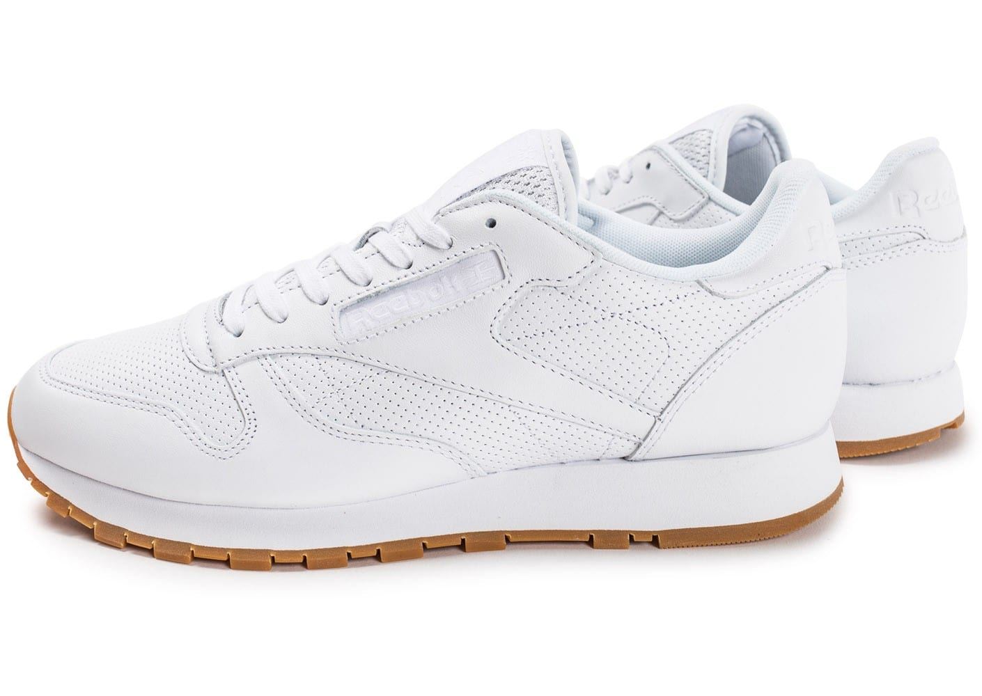 reebok classic leather pg blanche chaussures homme chausport. Black Bedroom Furniture Sets. Home Design Ideas