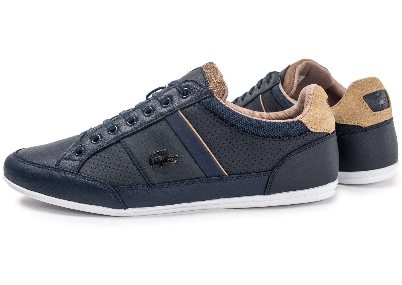 Chaussures Lacoste bleu marine Casual homme mZVcVDNkK