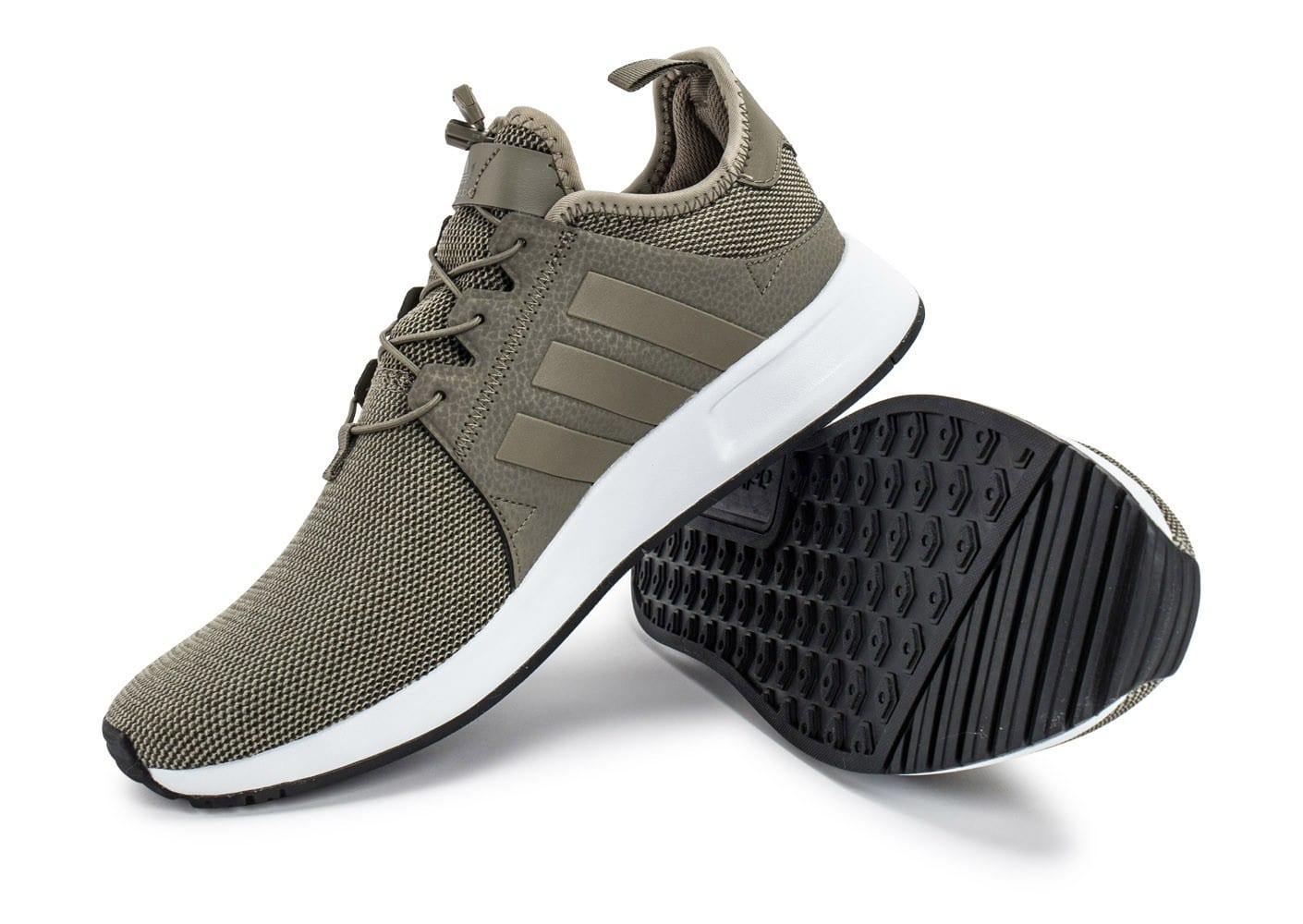 chaussures adidas x trace,chaussures adidas x plr trace kaki vue details