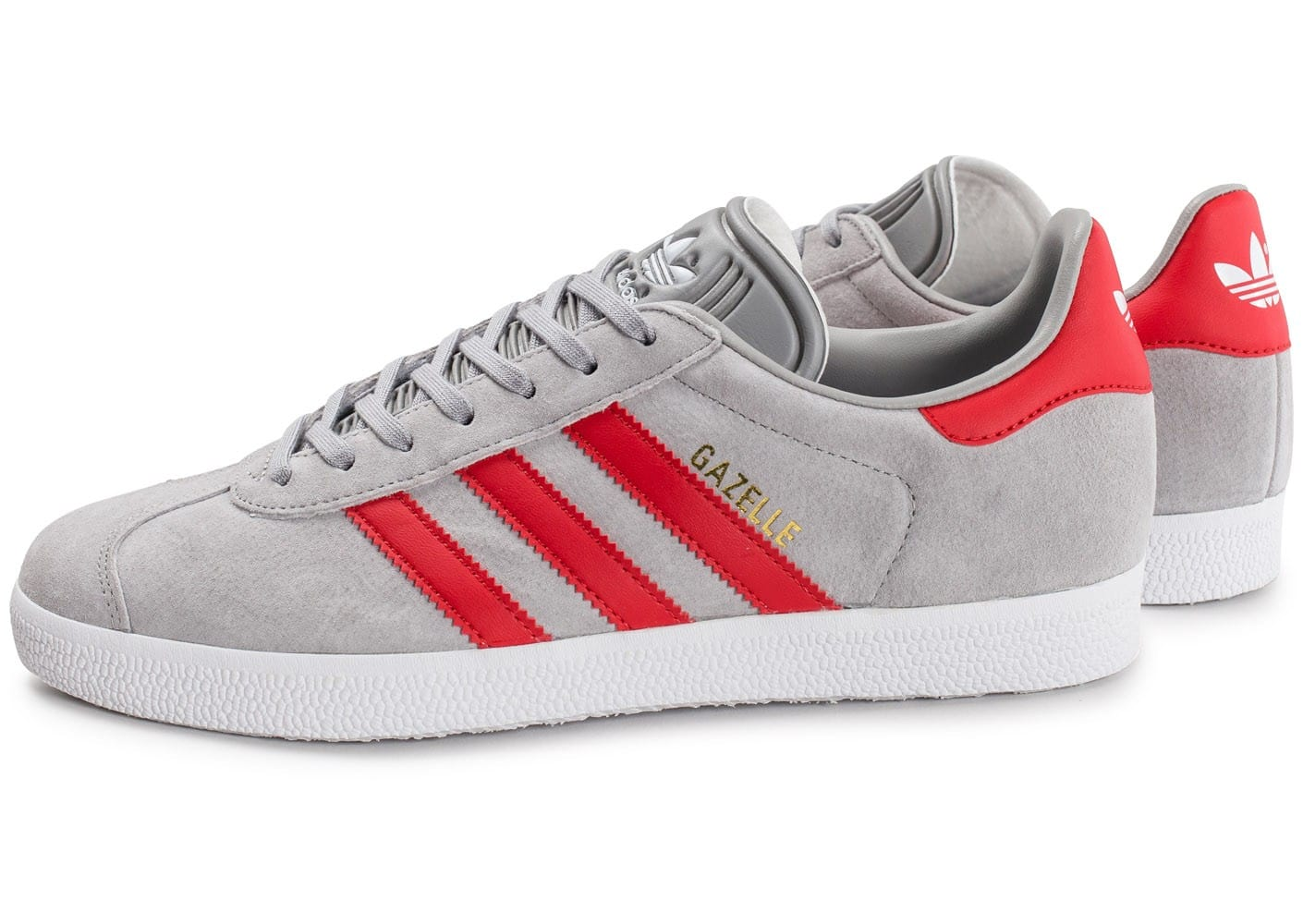 adidas gazelle grise et rouge chaussures homme chausport. Black Bedroom Furniture Sets. Home Design Ideas