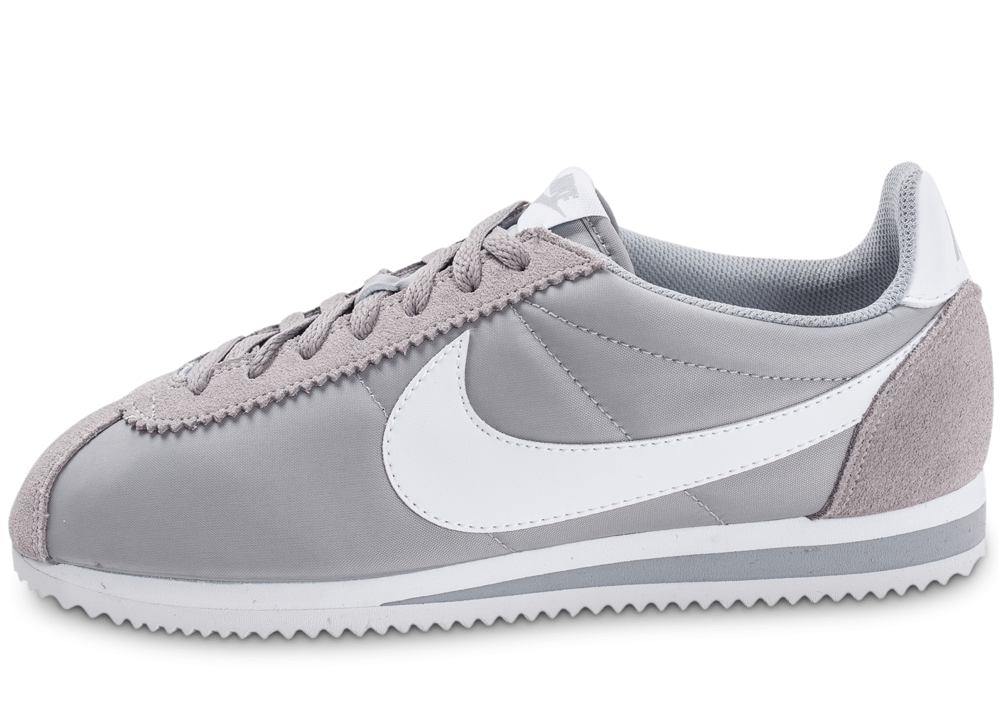 nike cortez nylon gris chaussures homme chausport. Black Bedroom Furniture Sets. Home Design Ideas