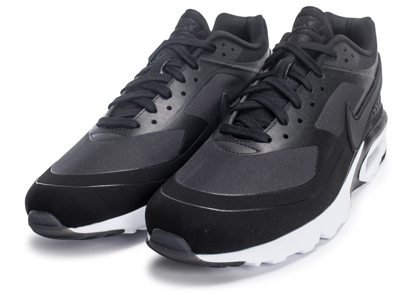 the best attitude 4a10e 833fb ... chaussures nike air max bw ultra leather anthracite vue avant