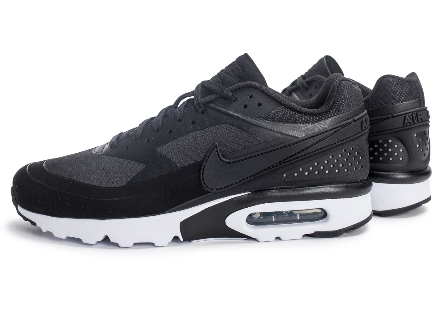 Cliquez pour zoomer Chaussures Nike Air Max BW Ultra Leather anthracite vue  extérieure ...