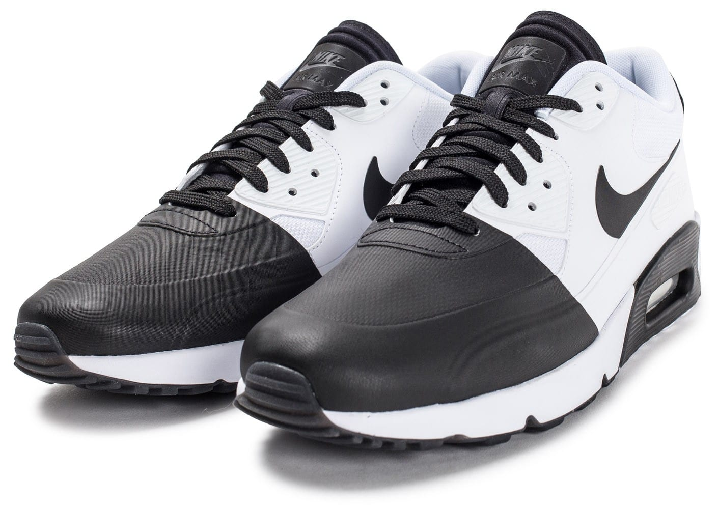 soldes nike air max 90 ultra 2 0 se blanche et noire chaussures homme chausport. Black Bedroom Furniture Sets. Home Design Ideas