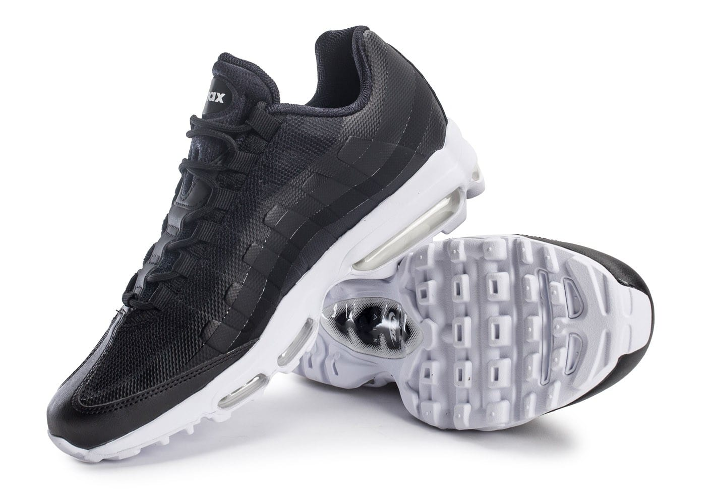 nike air max 95 ultra se noire chaussures homme chausport. Black Bedroom Furniture Sets. Home Design Ideas