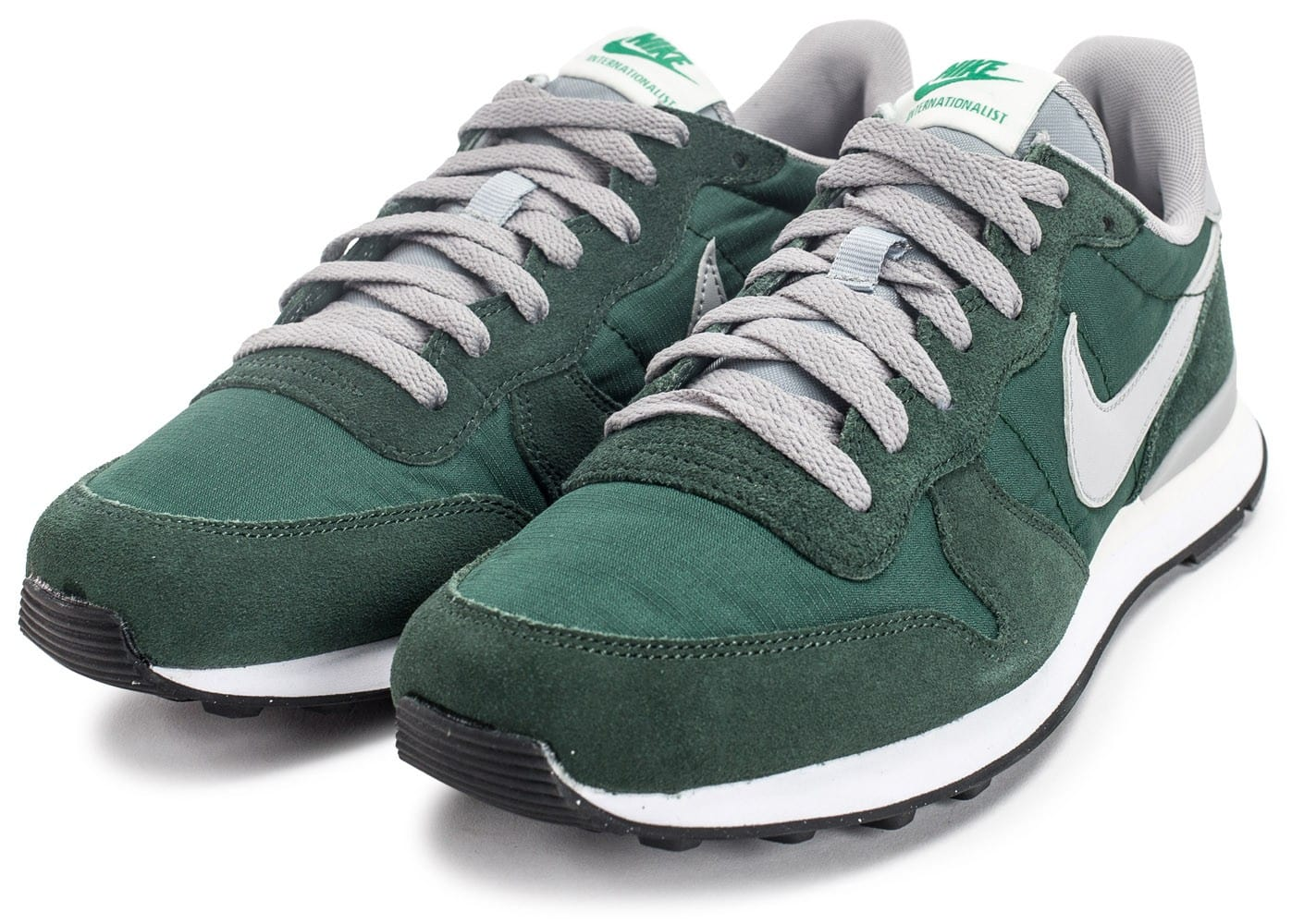 new product db761 80152 ... chaussures nike internationalist vert vue avant