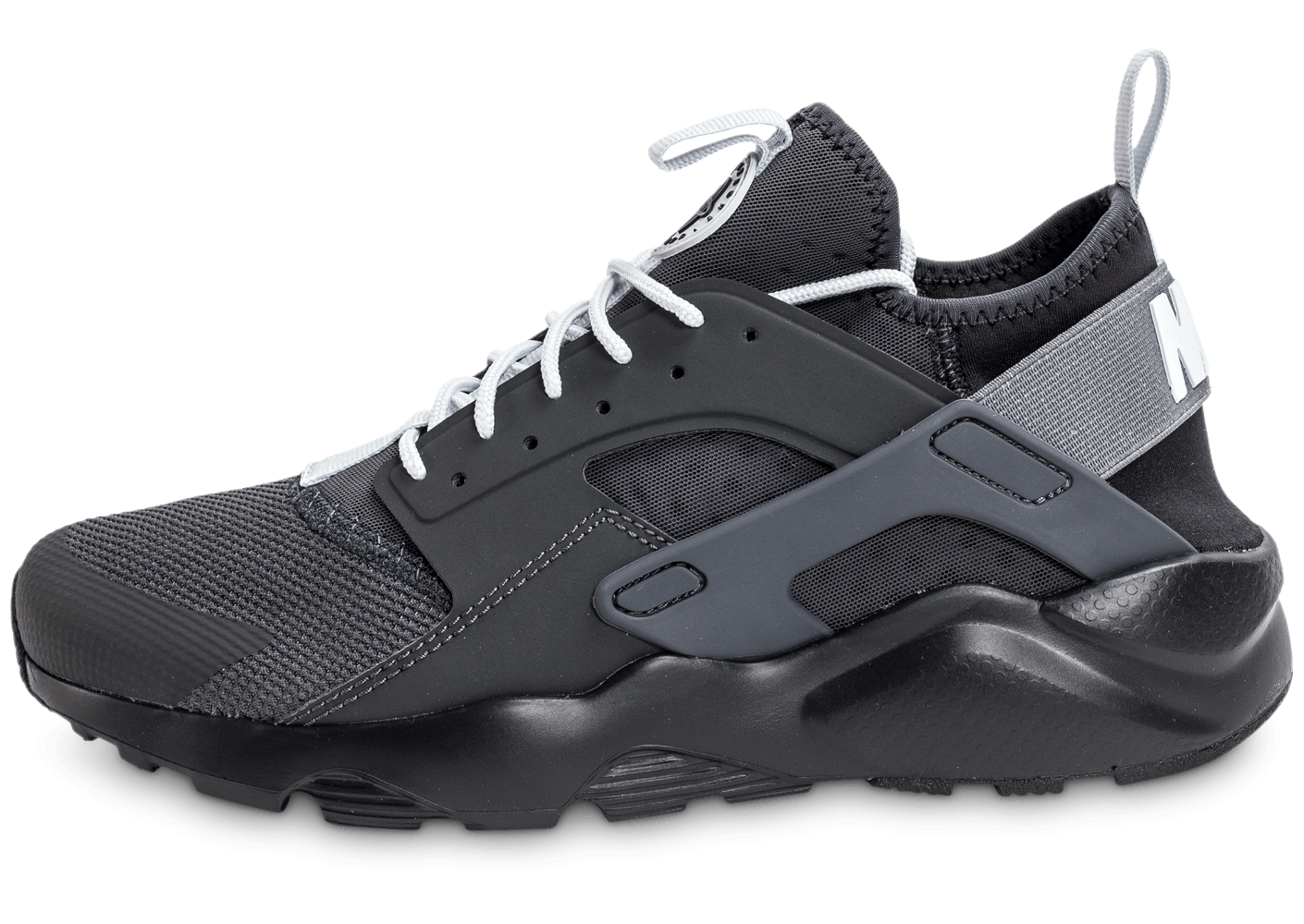 nike air huarache run ultra cool noire et blanche chaussures homme chausport. Black Bedroom Furniture Sets. Home Design Ideas