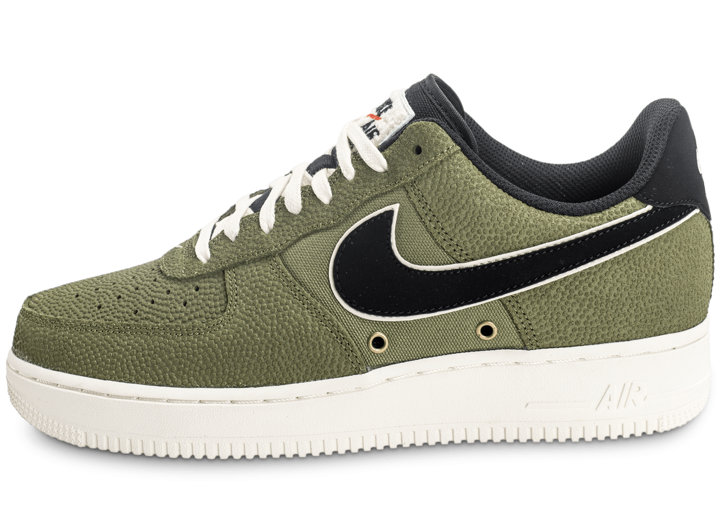 wholesale dealer 99f22 df2e8 ... chaussures nike air force 1 07 lv08 basketball leather verte vue  exterieure