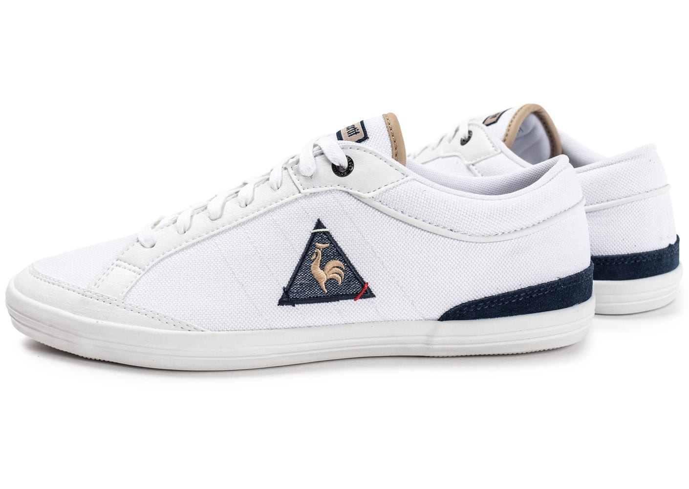 le coq sportif feret craft blanche chaussures homme chausport. Black Bedroom Furniture Sets. Home Design Ideas