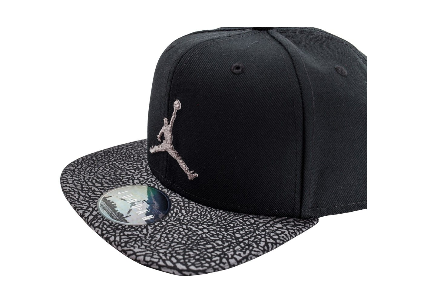 jordan casquette snapback elephant noire black friday chausport. Black Bedroom Furniture Sets. Home Design Ideas
