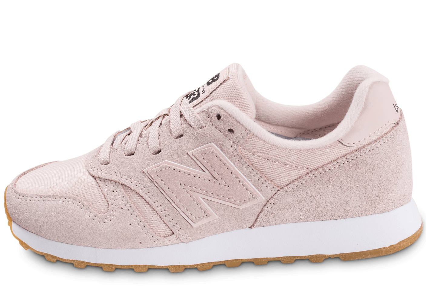 new balance beige et rose pale