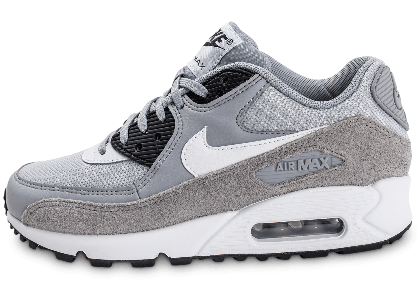 nike air max 90 w grise chaussures femme chausport. Black Bedroom Furniture Sets. Home Design Ideas