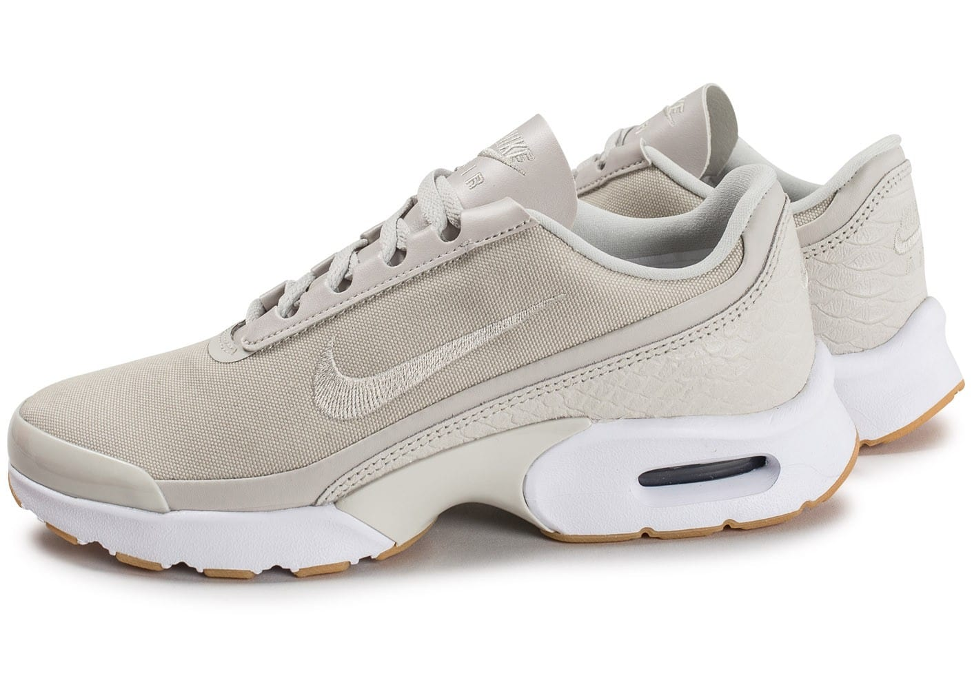 purchase cheap 6b102 68b6a chaussures nike air max jewell se beige vue par paire