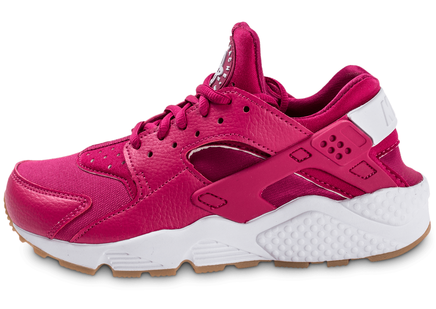 nike air huarache run rose fuschia chaussures femme chausport. Black Bedroom Furniture Sets. Home Design Ideas