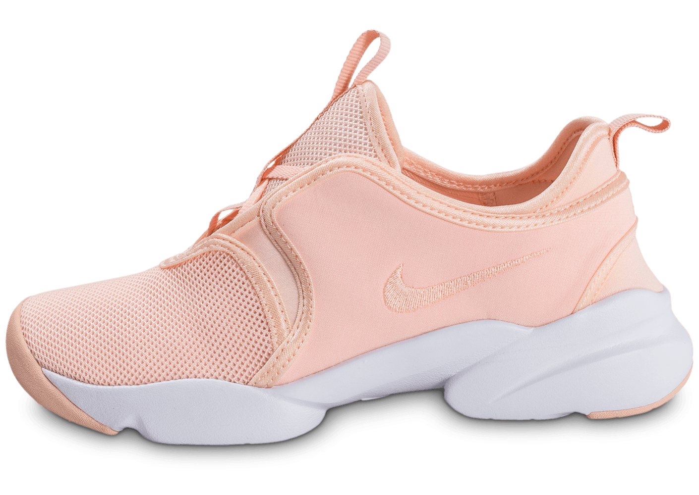 new concept 2b914 5c0b9 chaussures nike loden w rose pale vue exterieure