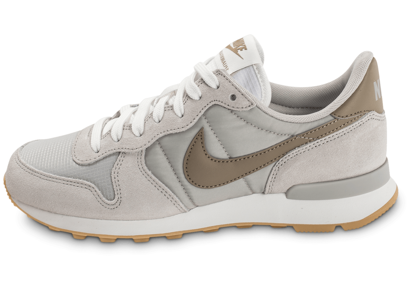 nike internationalist w pale grey chaussures pour. Black Bedroom Furniture Sets. Home Design Ideas