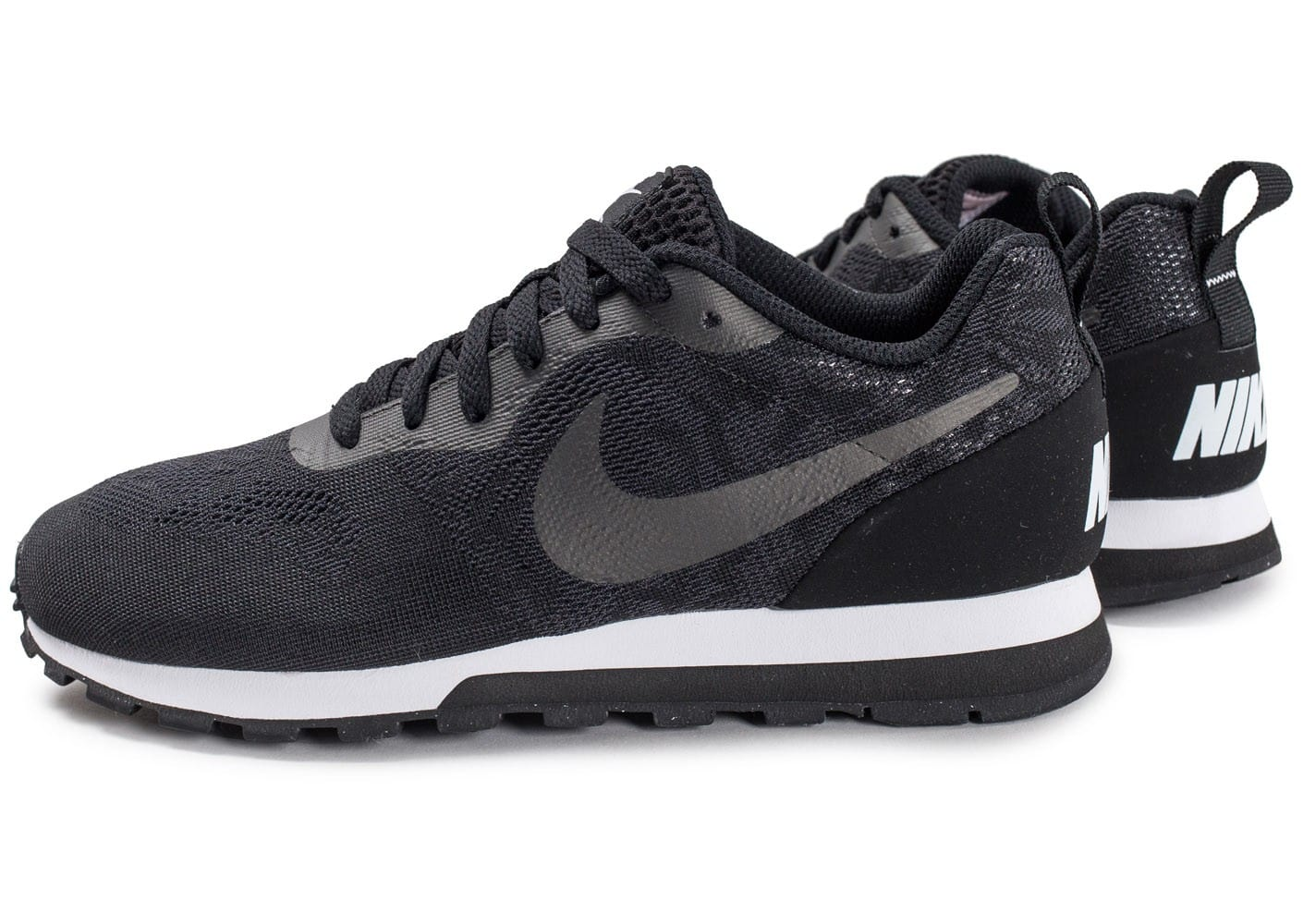 nike md runner 2 breathe w noire chaussures femme chausport. Black Bedroom Furniture Sets. Home Design Ideas