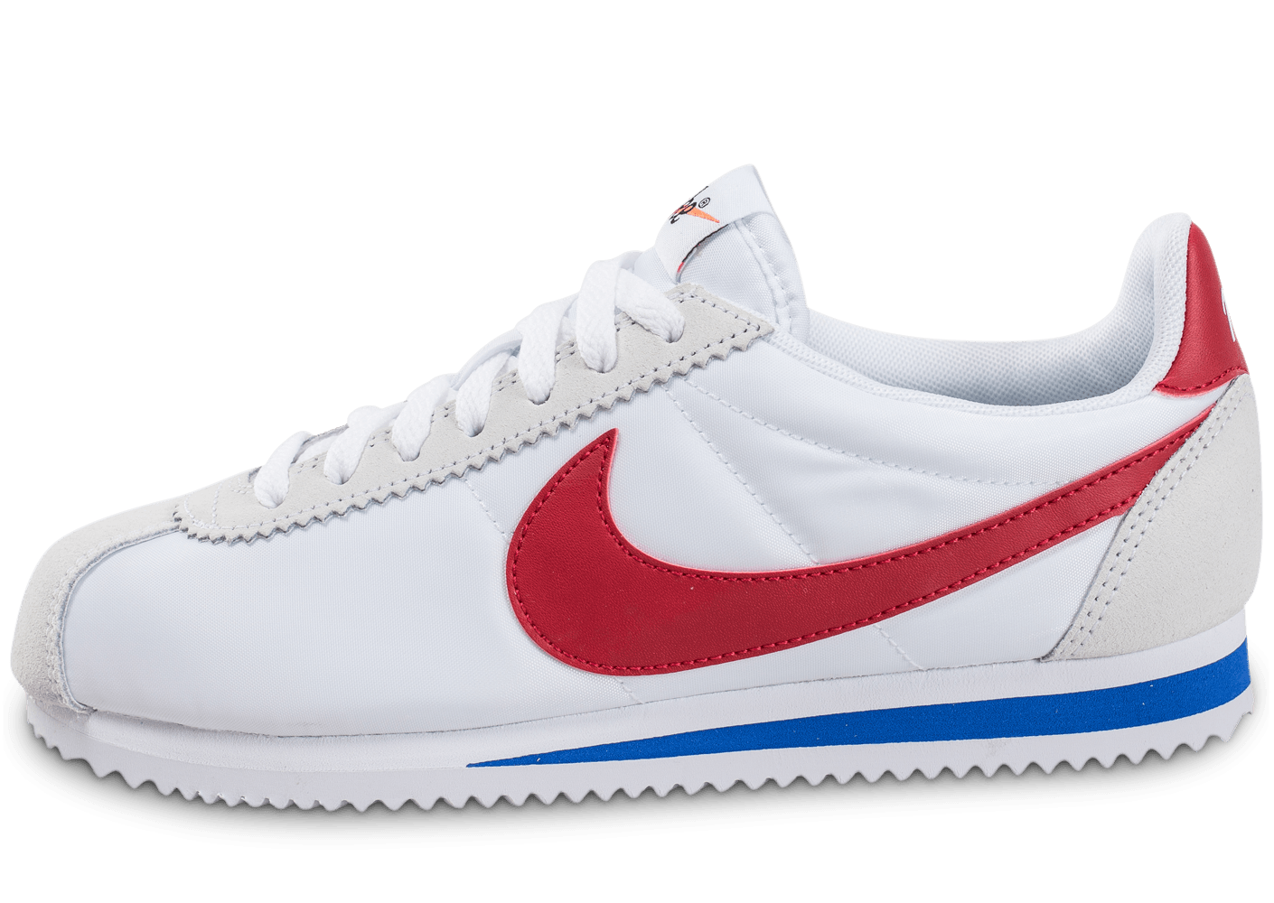separation shoes 2746a e2346 ... chaussures nike classic cortez nylon w varsity red vue exterieure