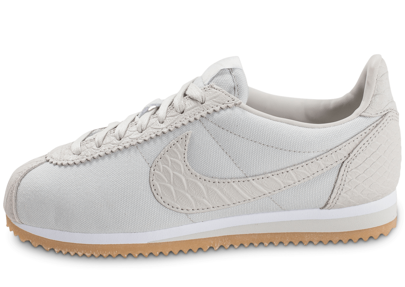 nike cortez se w light bone chaussures femme chausport. Black Bedroom Furniture Sets. Home Design Ideas