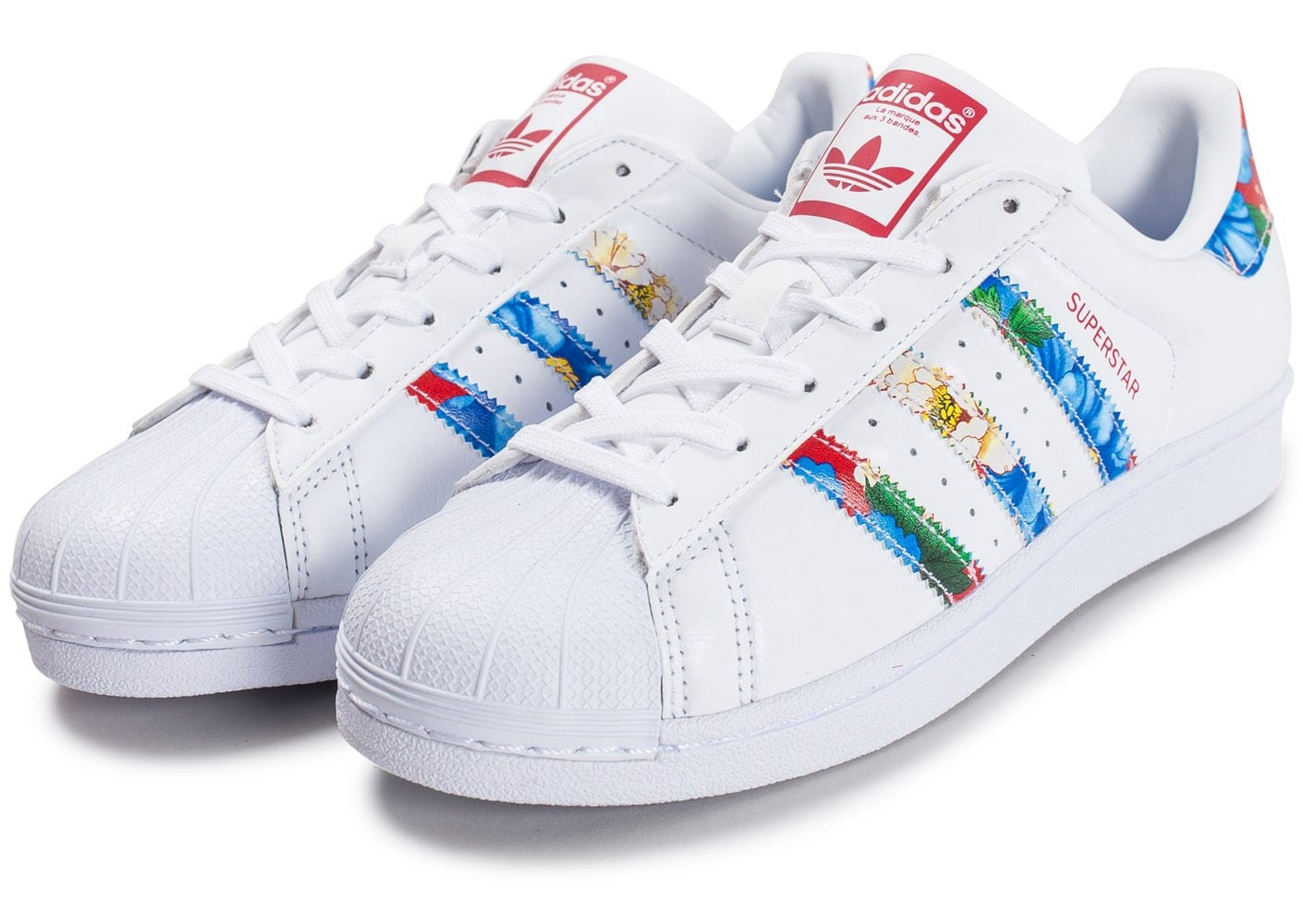 adidas Superstar W Multicolor - Chaussures adidas - Chausport