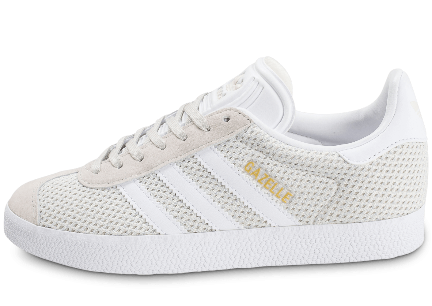 gazelle adidas blanche chaussures de. Black Bedroom Furniture Sets. Home Design Ideas