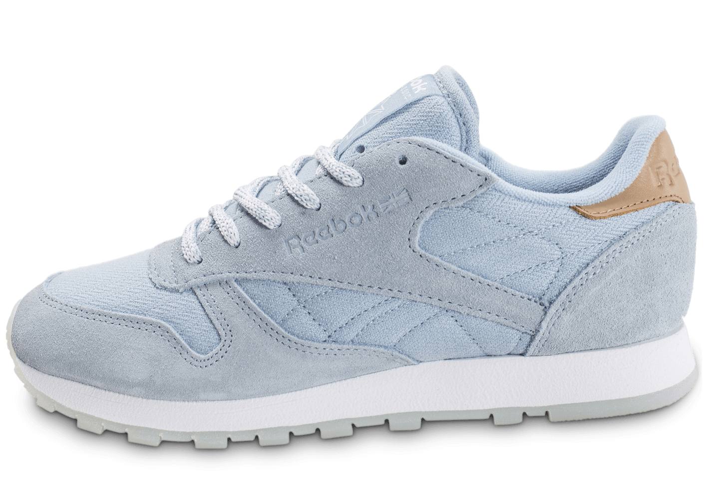 reebok classic leather sea worn bleue chaussures femme. Black Bedroom Furniture Sets. Home Design Ideas