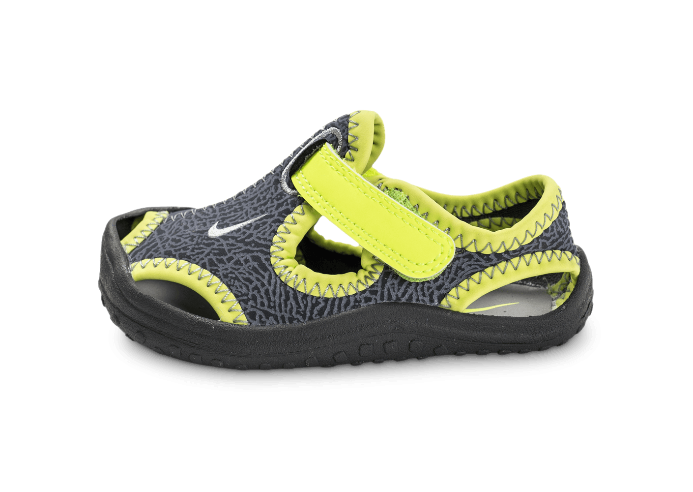 nike sunray protect td b b grise chaussures enfant chausport. Black Bedroom Furniture Sets. Home Design Ideas