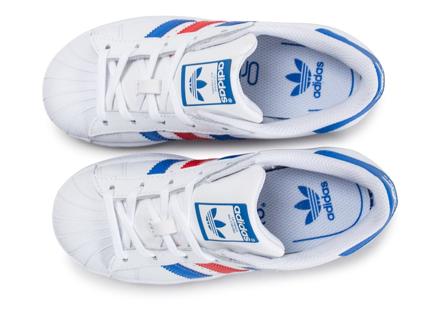 adidas superstar bleu blanc rouge