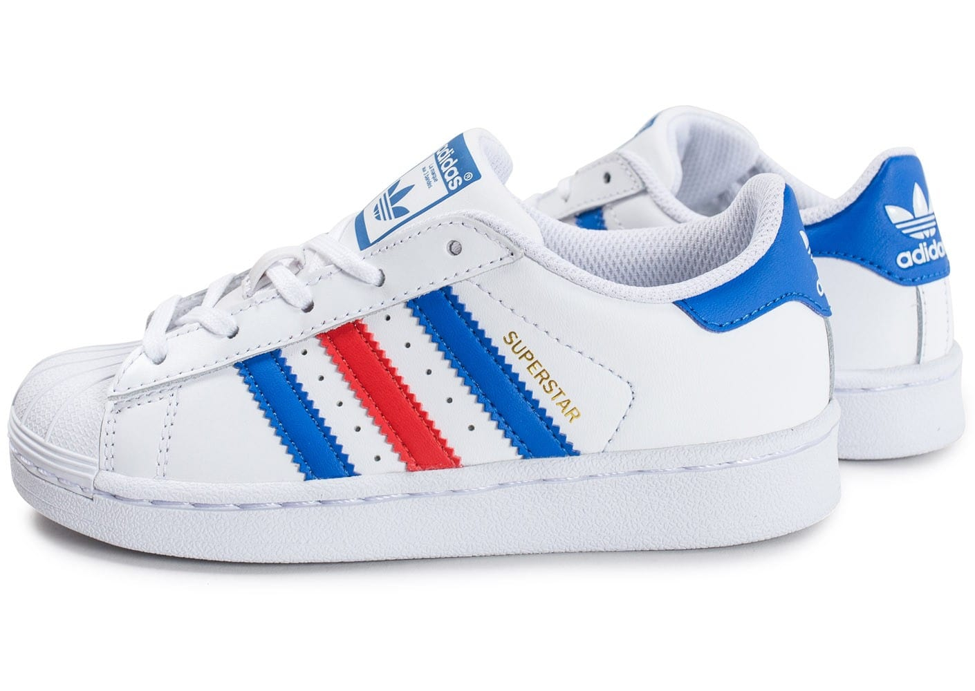 adidas superstar enfant bleu blanc rouge chaussures. Black Bedroom Furniture Sets. Home Design Ideas