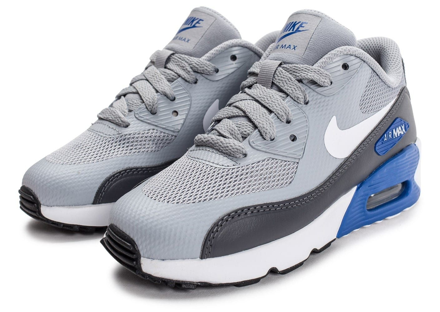 finest selection 8a771 9940f chaussures nike air max 90 ultra 2 0 ultra enfant grise vue avant