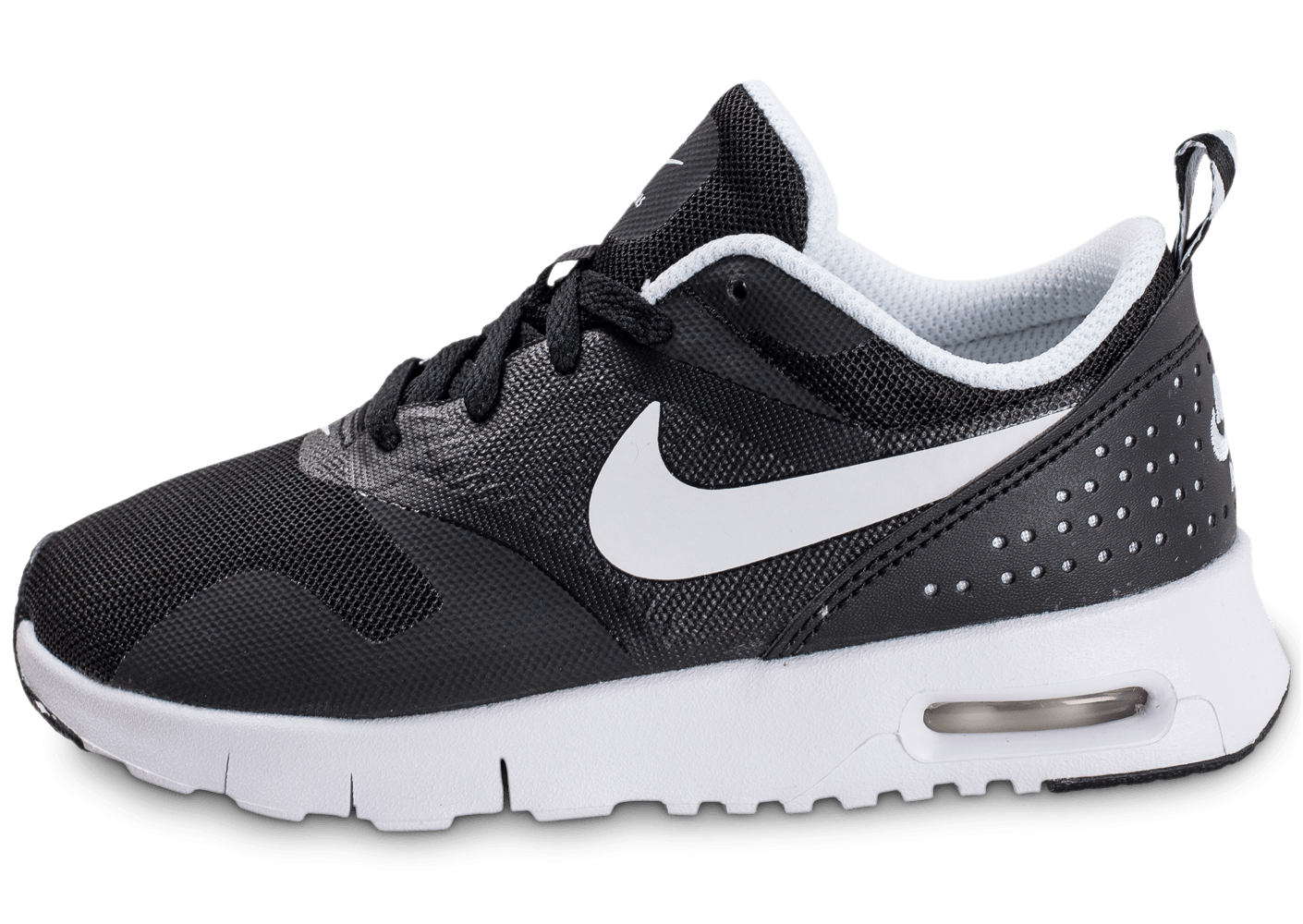 nike air max tavas enfant noire et blanche chaussures enfant chausport. Black Bedroom Furniture Sets. Home Design Ideas