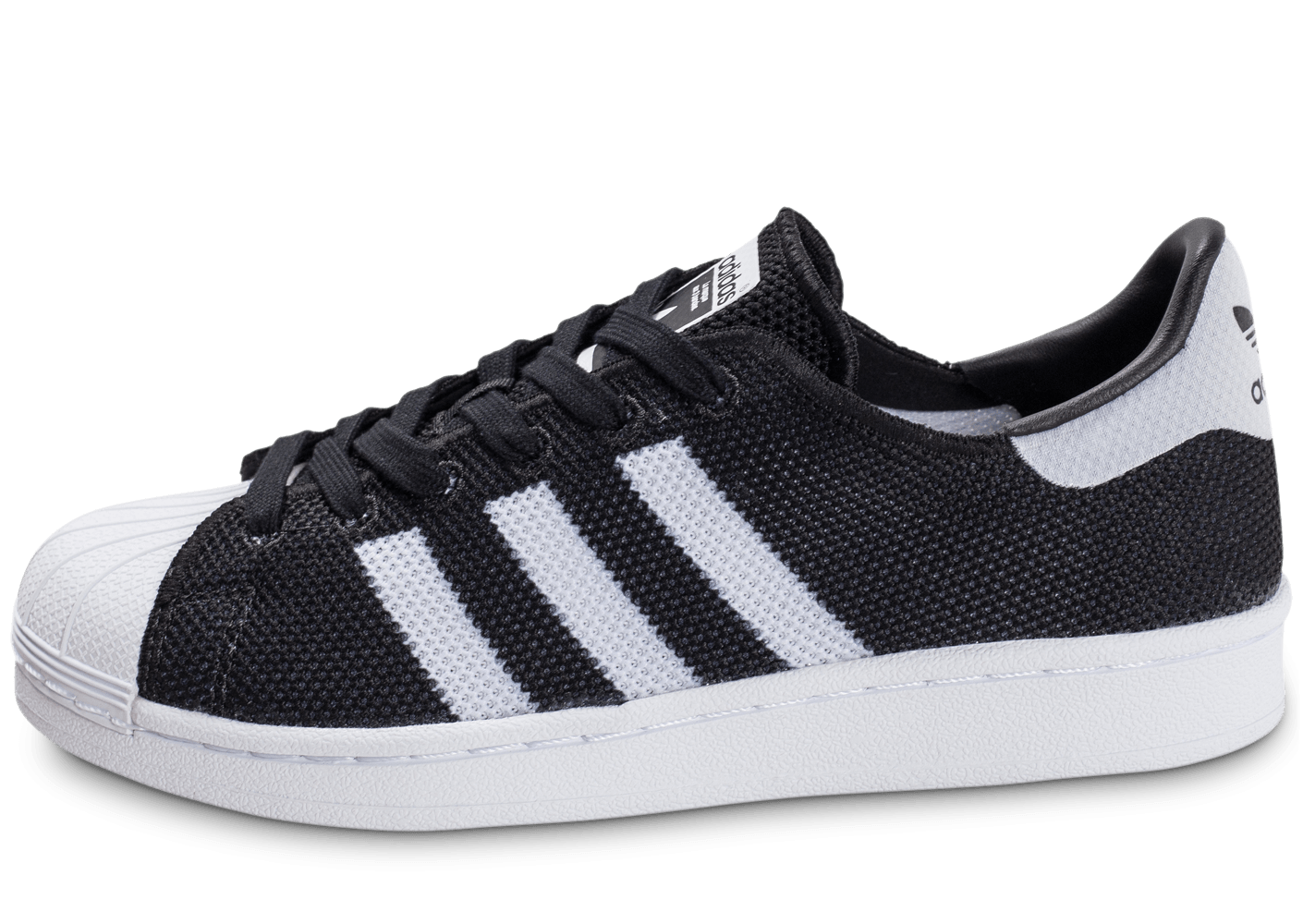 adidas superstar mesh junior noire et blanche chaussures adidas chausport. Black Bedroom Furniture Sets. Home Design Ideas
